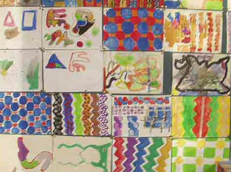 På at udforske figurer og mønstre